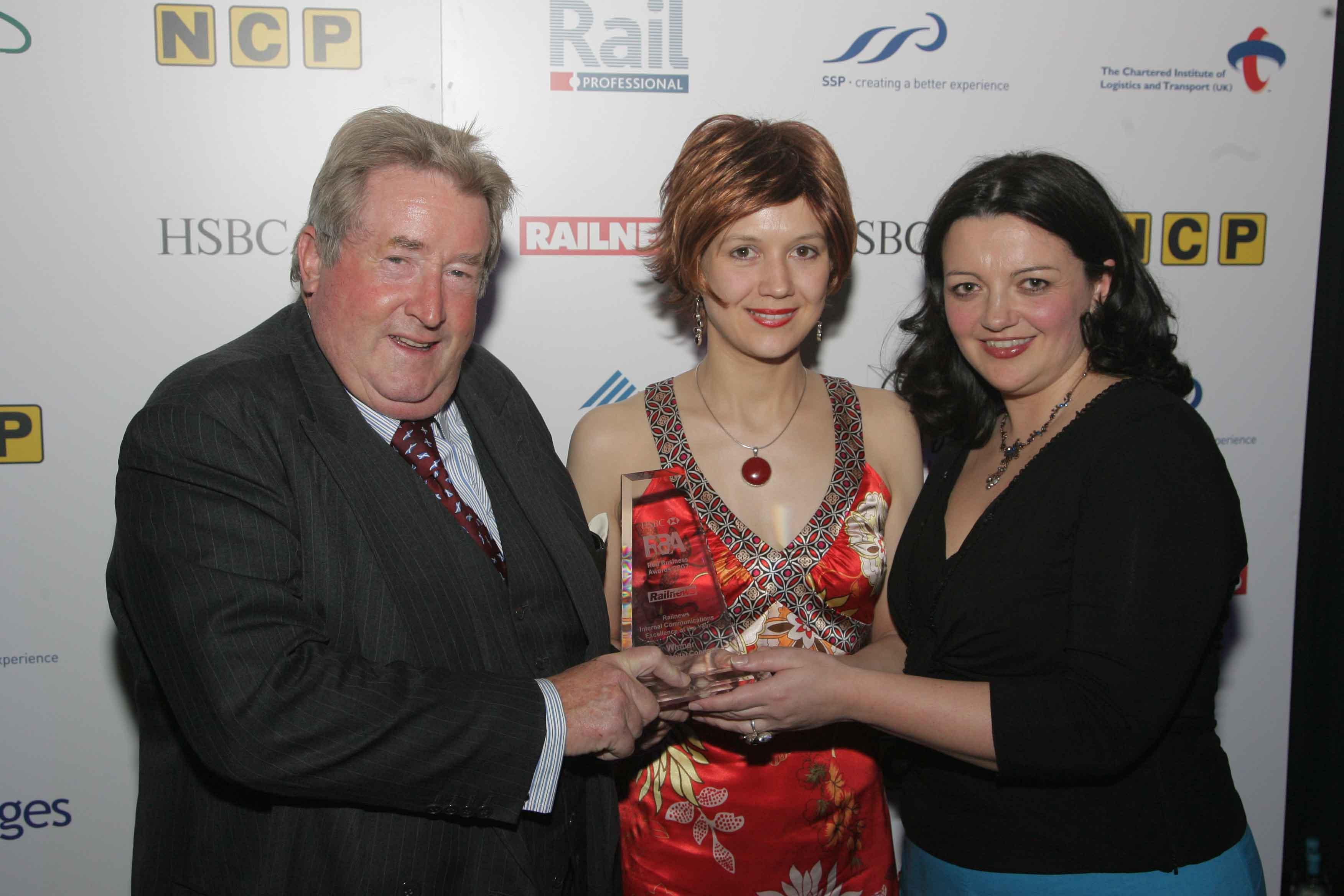 Sir Robert McAlpine, Miranda Luxford and myself